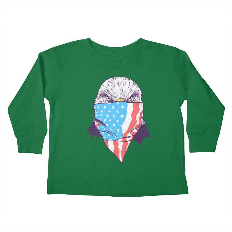 Bald Bandit Kids Toddler Longsleeve T-Shirt by hillarywhiterabbit's Artist Shop