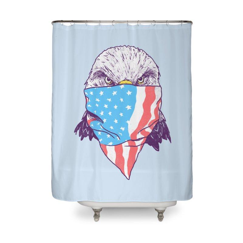 Bald Bandit Home Shower Curtain by hillarywhiterabbit's Artist Shop