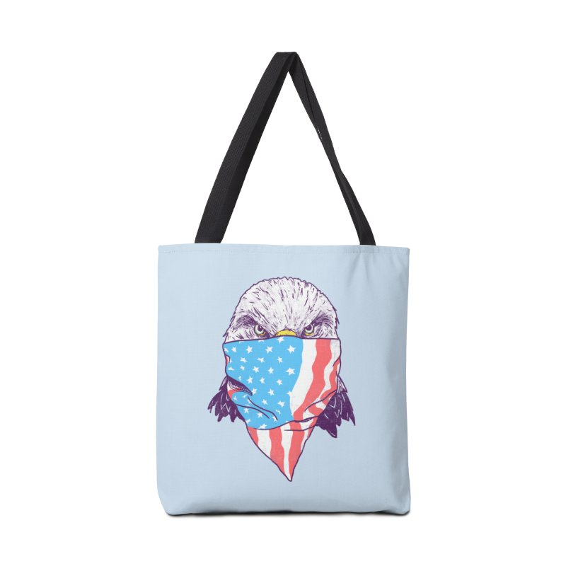 Bald Bandit Accessories Bag by hillarywhiterabbit's Artist Shop
