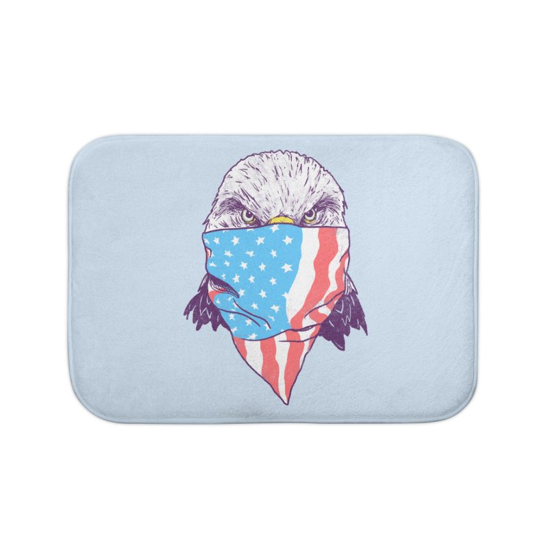 Bald Bandit Home Bath Mat by hillarywhiterabbit's Artist Shop