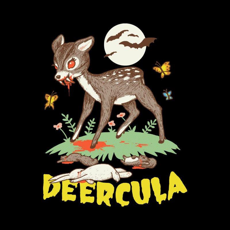 Deercula None  by hillarywhiterabbit's Artist Shop