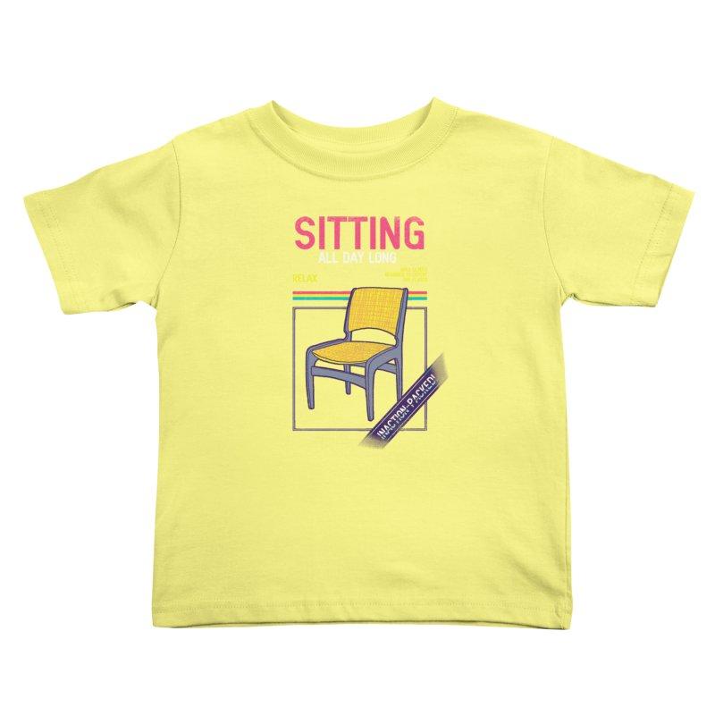 Sitting Kids Toddler T-Shirt by hillarywhiterabbit's Artist Shop