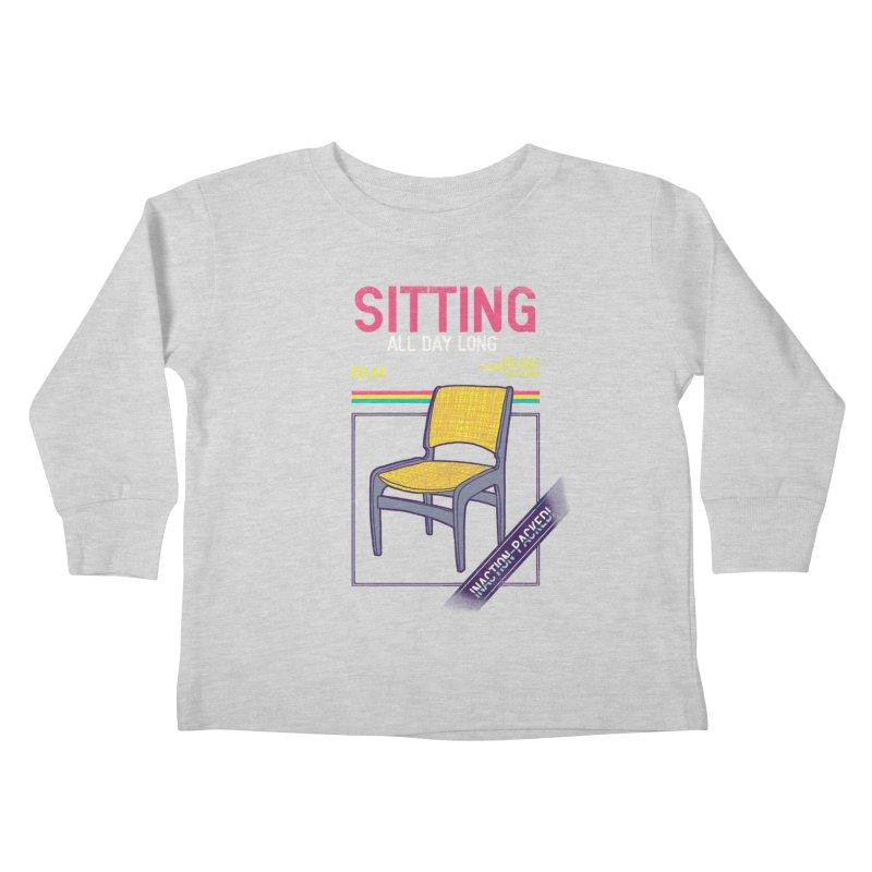 Sitting Kids Toddler Longsleeve T-Shirt by hillarywhiterabbit's Artist Shop