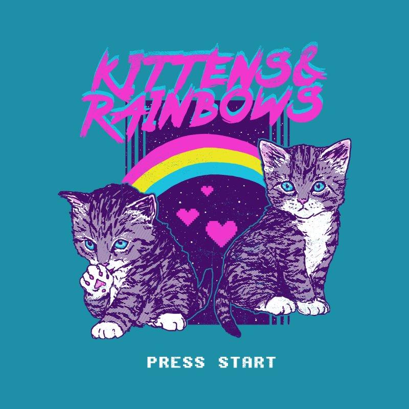Kittens & Rainbows by hillarywhiterabbit's Artist Shop