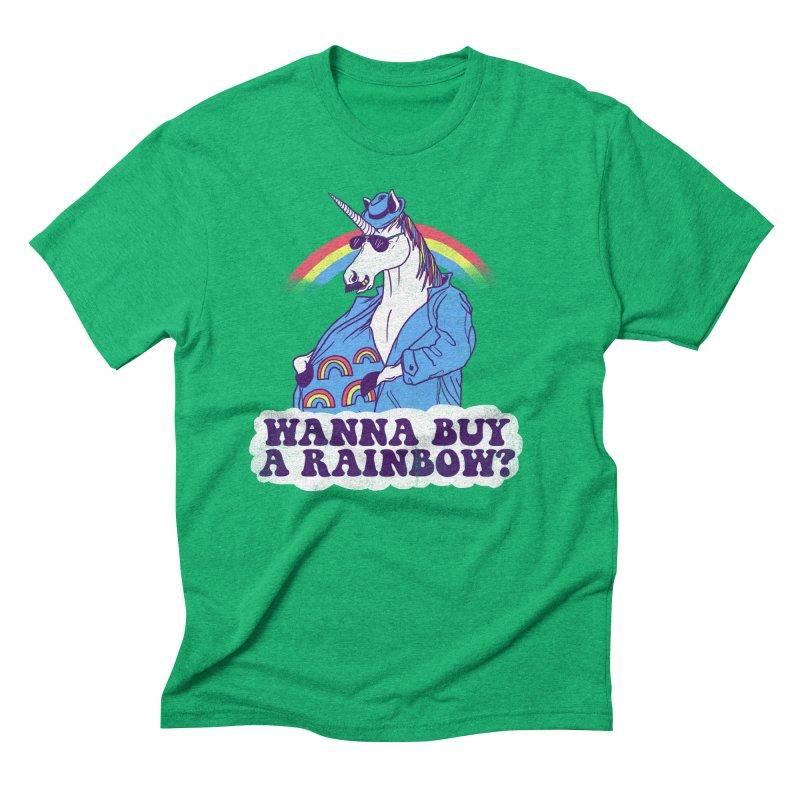 Unicorntraband Men's Triblend T-shirt by hillarywhiterabbit's Artist Shop