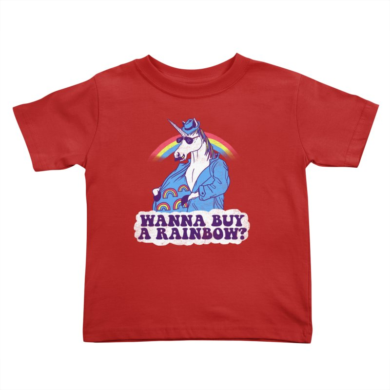 Unicorntraband Kids Toddler T-Shirt by hillarywhiterabbit's Artist Shop