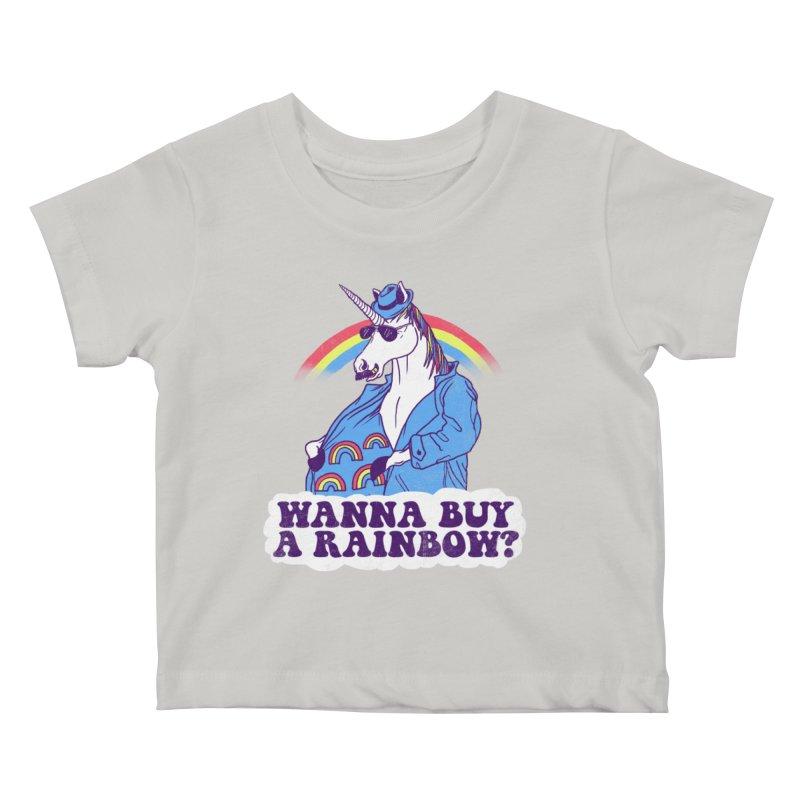 Unicorntraband Kids Baby T-Shirt by hillarywhiterabbit's Artist Shop