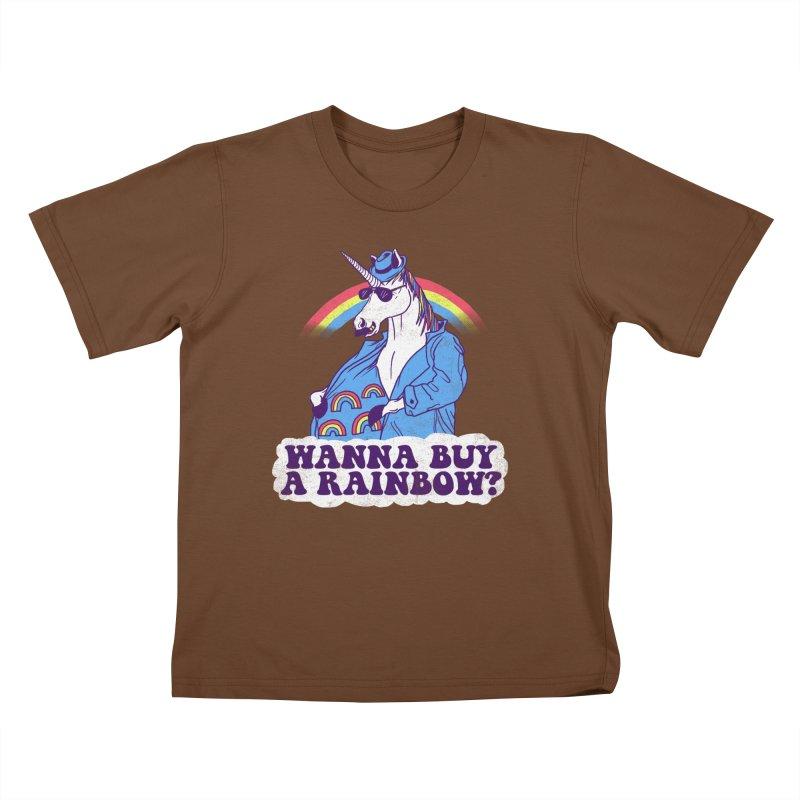 Unicorntraband Kids T-shirt by hillarywhiterabbit's Artist Shop