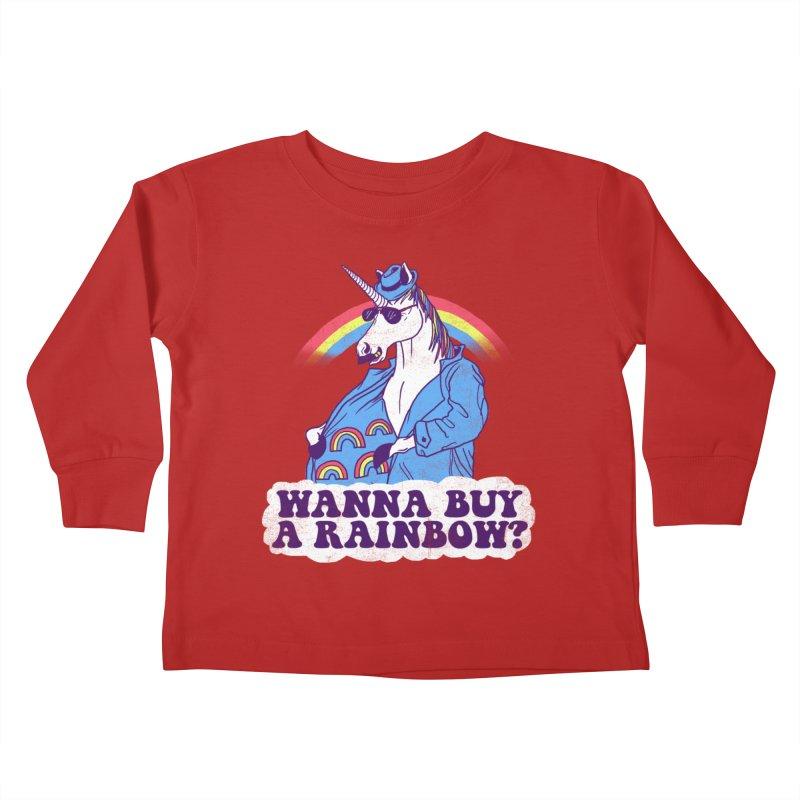 Unicorntraband Kids Toddler Longsleeve T-Shirt by hillarywhiterabbit's Artist Shop