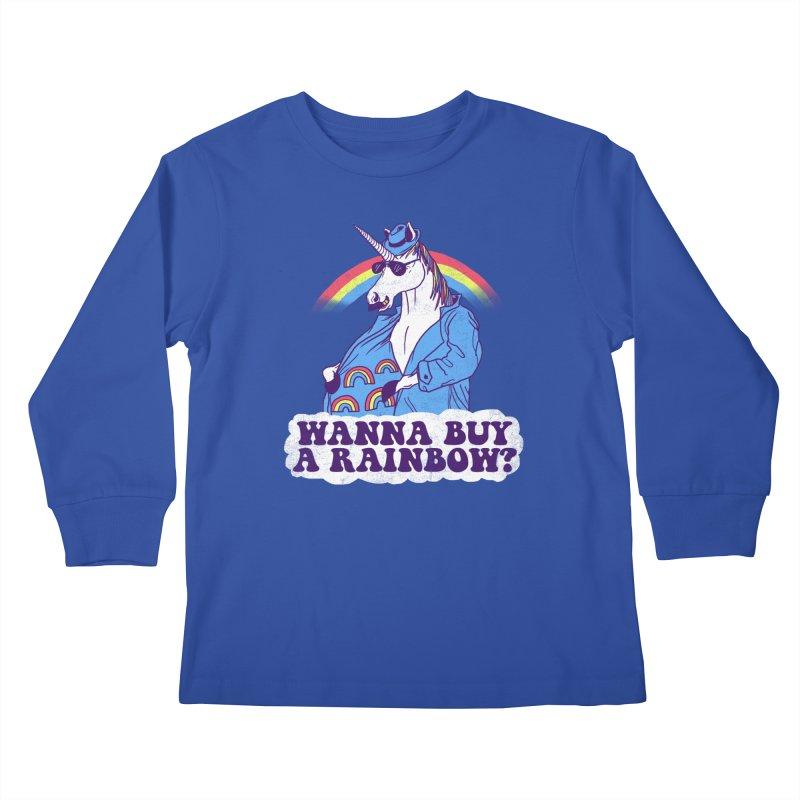 Unicorntraband Kids Longsleeve T-Shirt by hillarywhiterabbit's Artist Shop