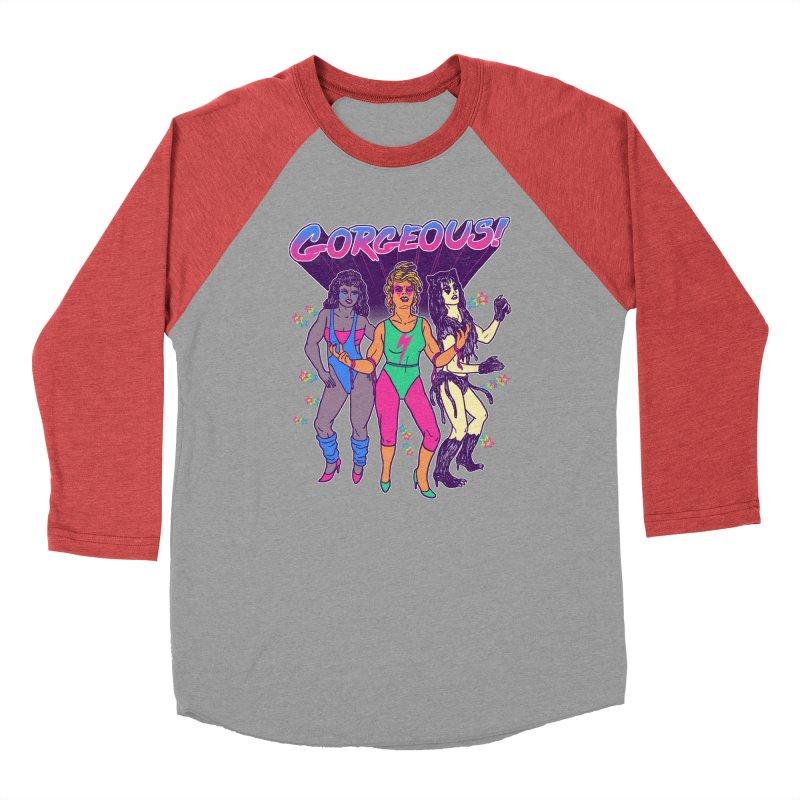 Gorgeous! Men's Baseball Triblend T-Shirt by hillarywhiterabbit's Artist Shop