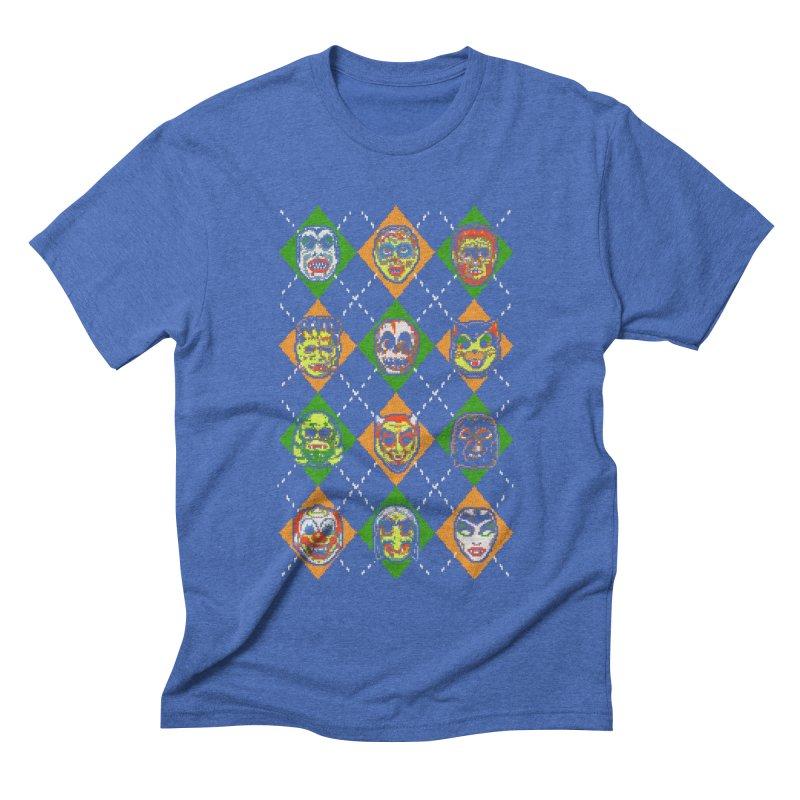 Scary Christmask Men's Triblend T-shirt by hillarywhiterabbit's Artist Shop