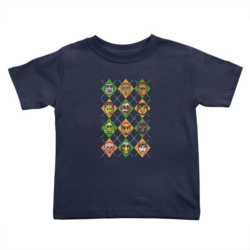 Scary Christmask Kids Toddler T-Shirt by hillarywhiterabbit's Artist Shop