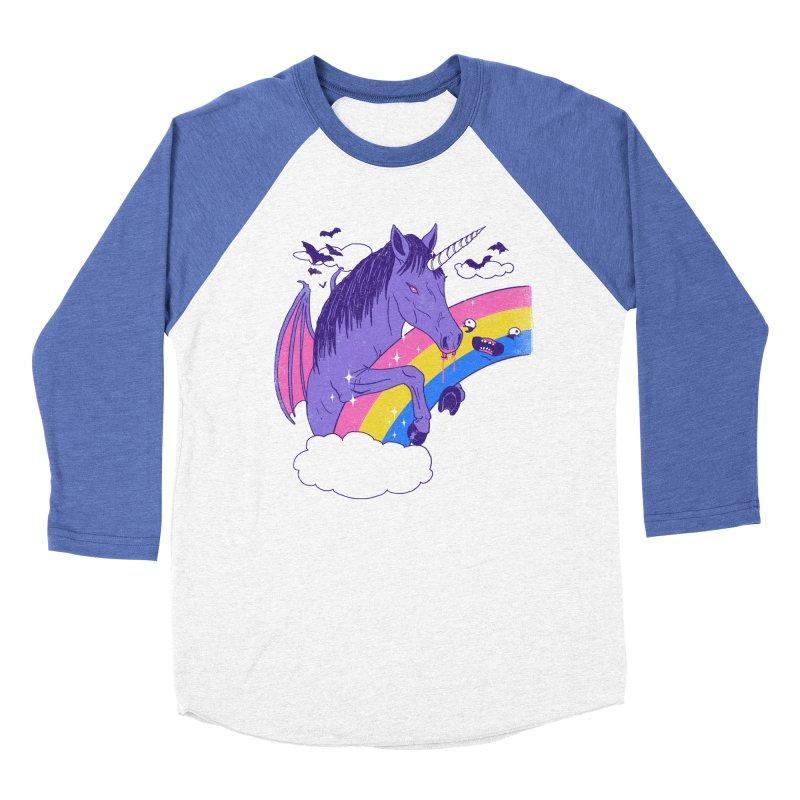 Vampcorn Men's Baseball Triblend T-Shirt by hillarywhiterabbit's Artist Shop