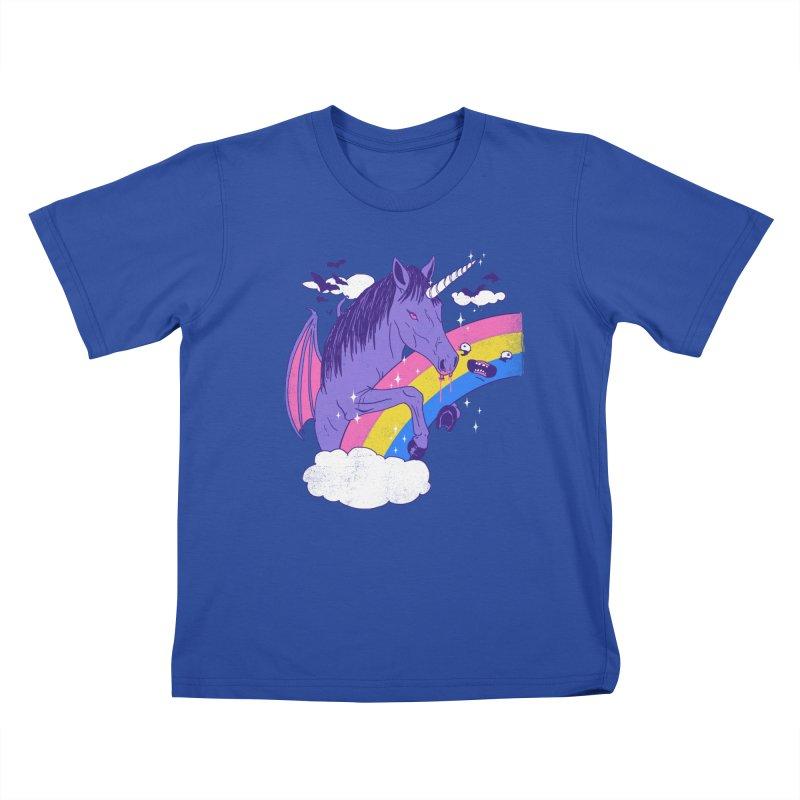 Vampcorn Kids T-shirt by hillarywhiterabbit's Artist Shop