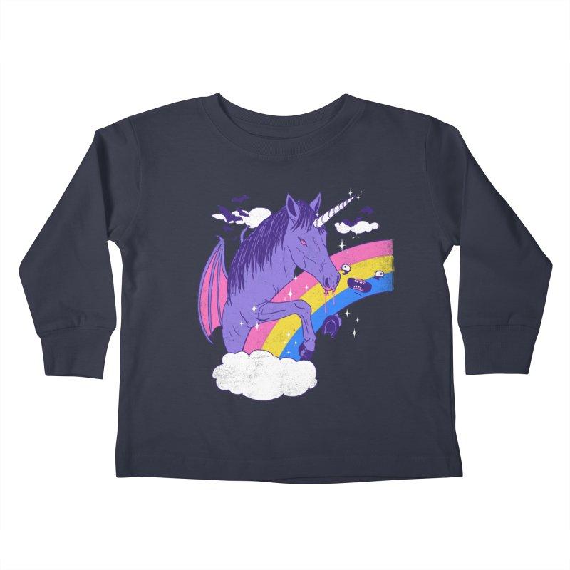 Vampcorn Kids Toddler Longsleeve T-Shirt by hillarywhiterabbit's Artist Shop