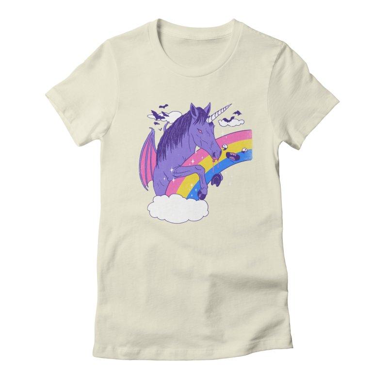 Vampcorn Women's Fitted T-Shirt by hillarywhiterabbit's Artist Shop