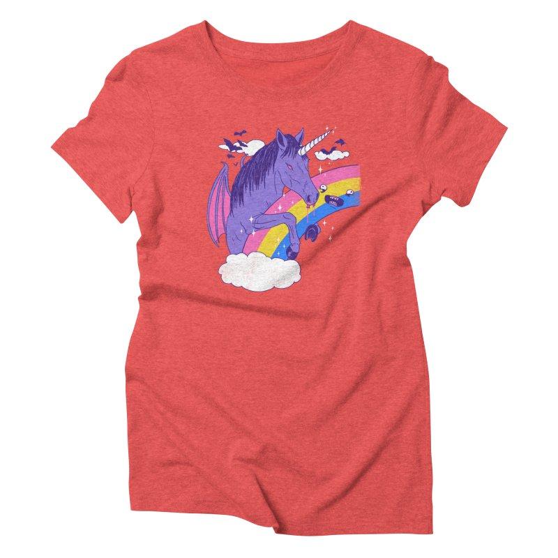 Vampcorn Women's Triblend T-shirt by hillarywhiterabbit's Artist Shop
