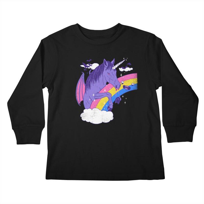 Vampcorn Kids Longsleeve T-Shirt by hillarywhiterabbit's Artist Shop