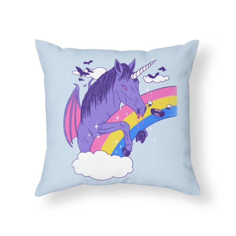 Vampcorn Home Throw Pillow by hillarywhiterabbit's Artist Shop