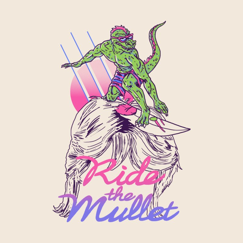 Mullet Surfer None  by hillarywhiterabbit's Artist Shop