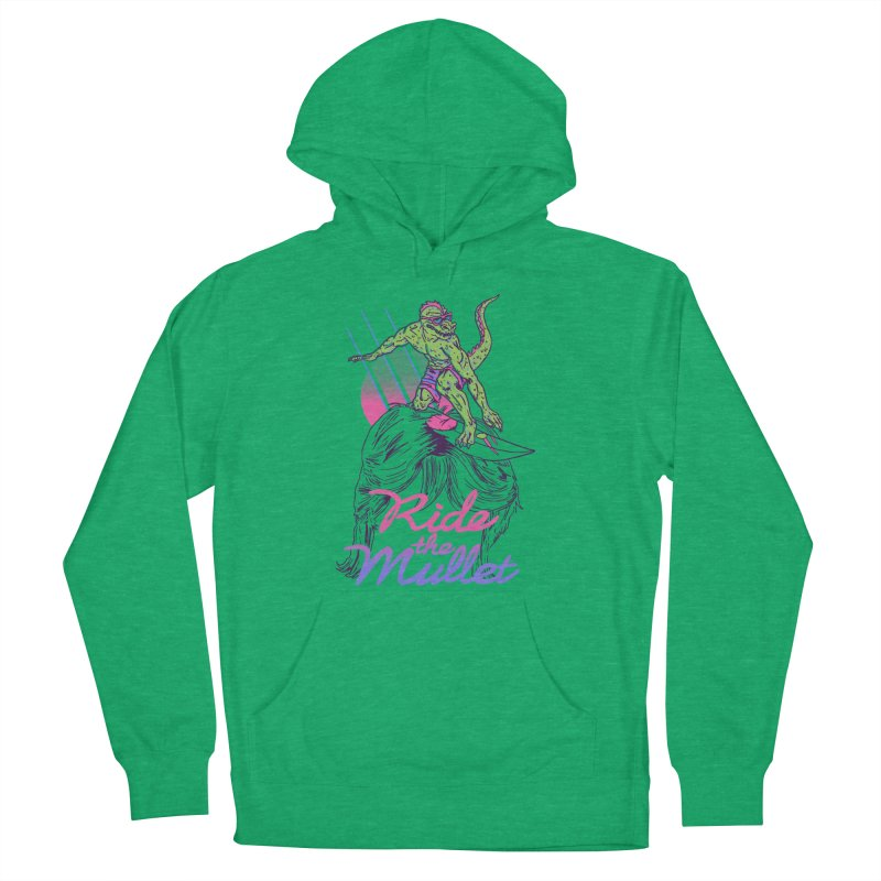 Mullet Surfer Women's Pullover Hoody by hillarywhiterabbit's Artist Shop