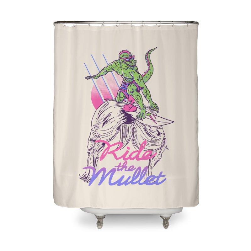 Mullet Surfer Home Shower Curtain by hillarywhiterabbit's Artist Shop