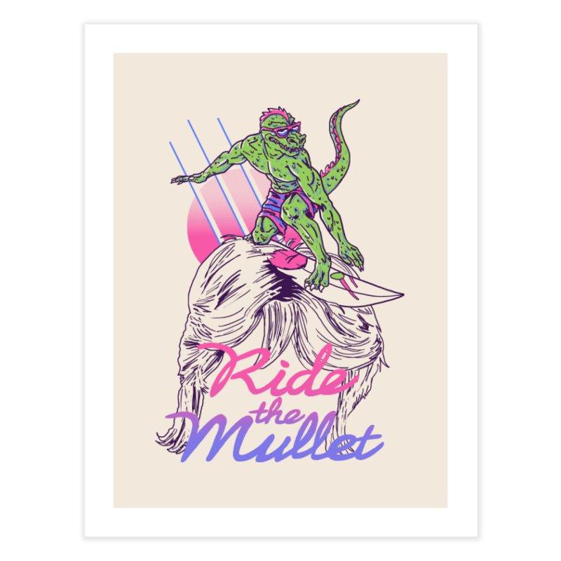 Mullet Surfer Home Fine Art Print by hillarywhiterabbit's Artist Shop