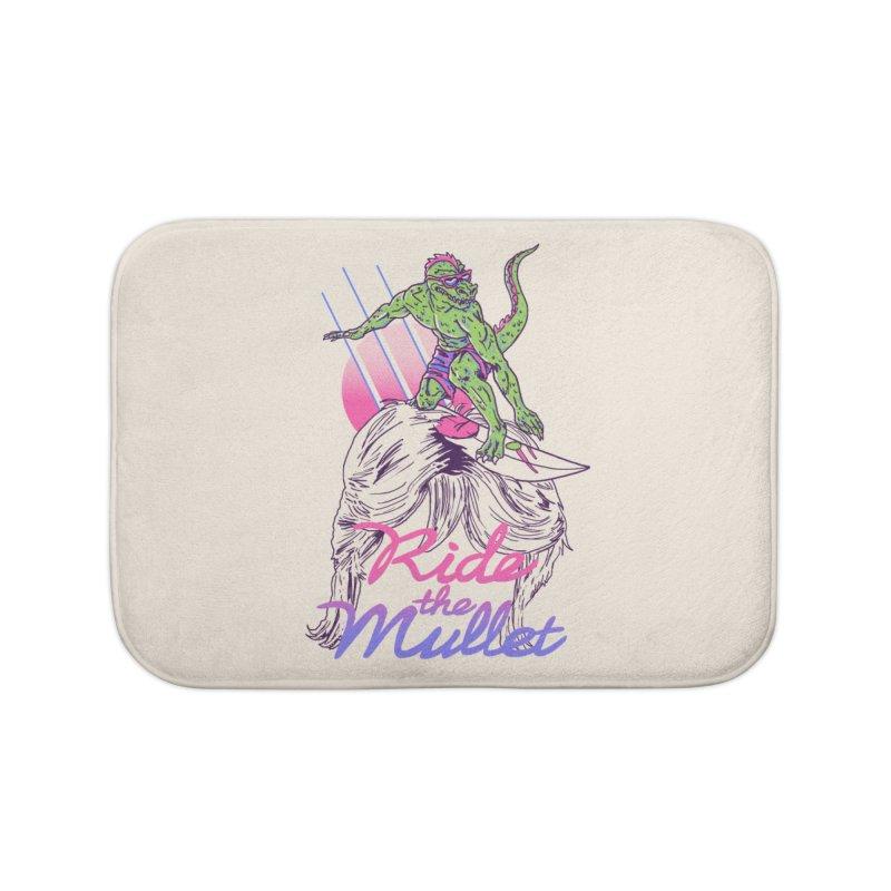 Mullet Surfer Home Bath Mat by hillarywhiterabbit's Artist Shop