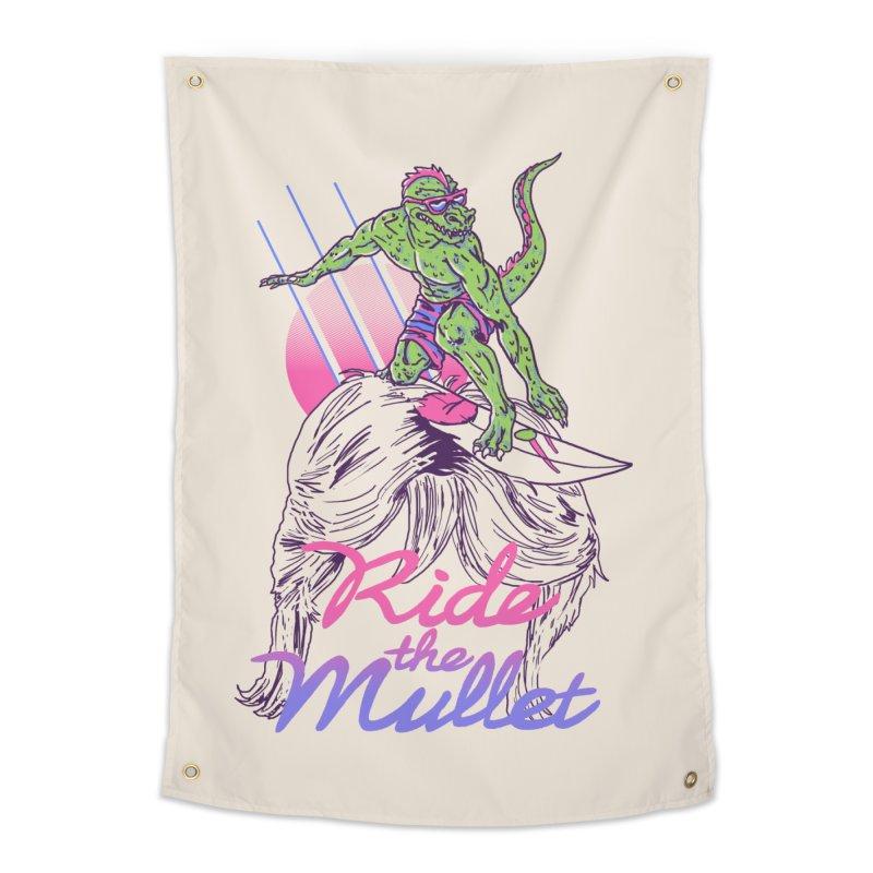 Mullet Surfer Home Tapestry by hillarywhiterabbit's Artist Shop
