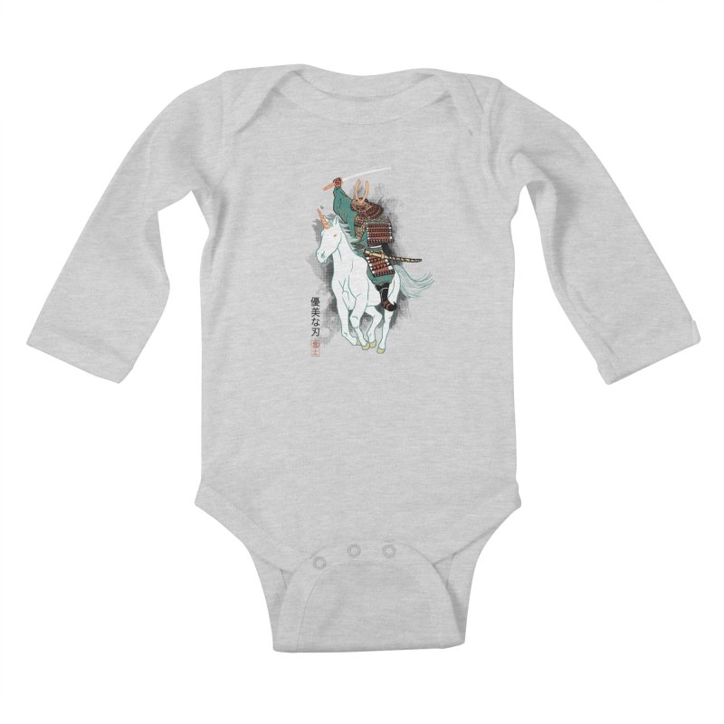 Uniyo-e Kids Baby Longsleeve Bodysuit by hillarywhiterabbit's Artist Shop