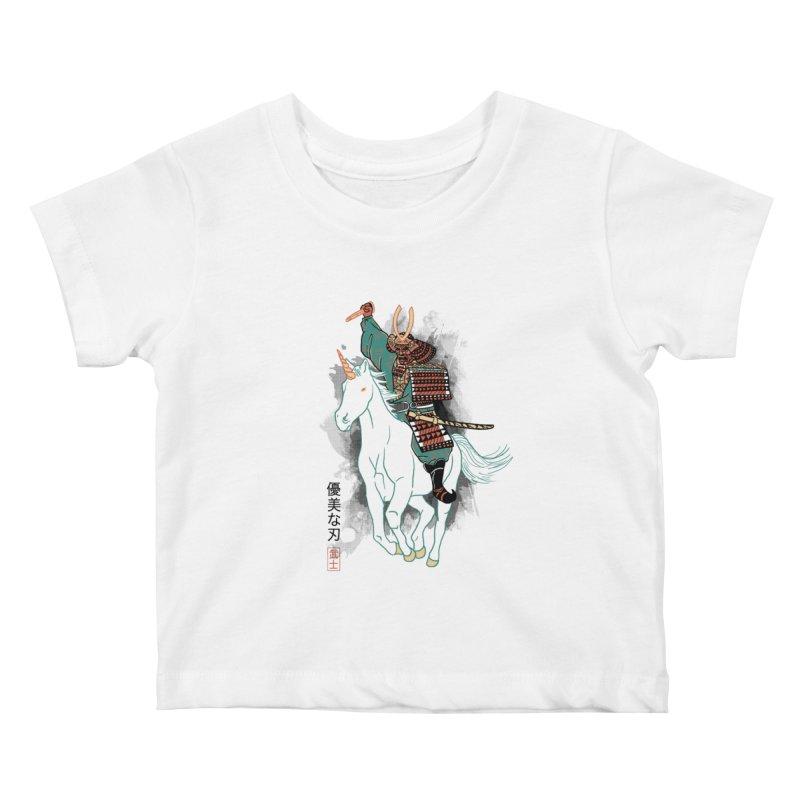 Uniyo-e Kids Baby T-Shirt by hillarywhiterabbit's Artist Shop