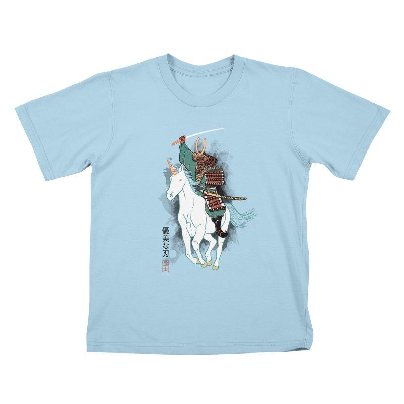 Uniyo-e Kids T-shirt by hillarywhiterabbit's Artist Shop