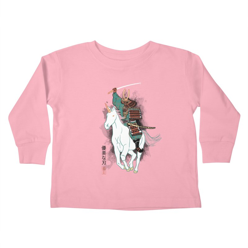 Uniyo-e Kids Toddler Longsleeve T-Shirt by hillarywhiterabbit's Artist Shop