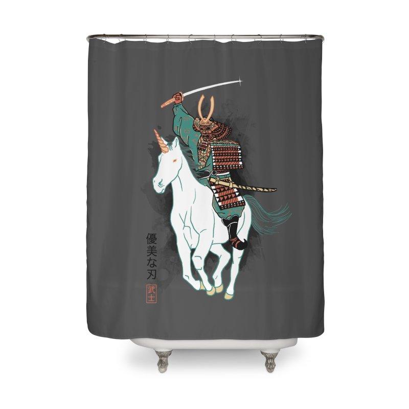 Uniyo-e Home Shower Curtain by hillarywhiterabbit's Artist Shop