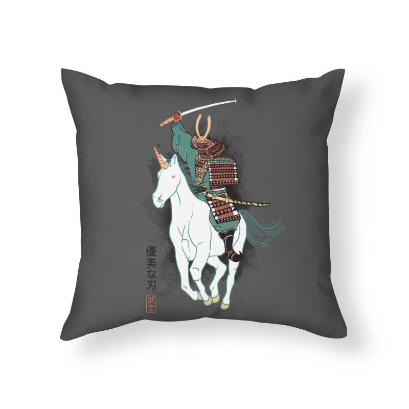 Uniyo-e Home Throw Pillow by hillarywhiterabbit's Artist Shop
