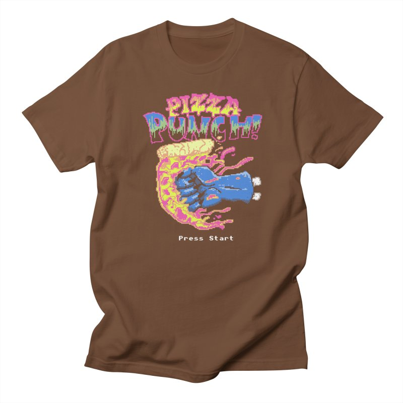 Pizza Punch Men's T-shirt by hillarywhiterabbit's Artist Shop