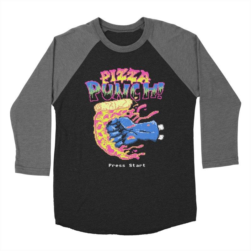 Pizza Punch Women's Baseball Triblend T-Shirt by hillarywhiterabbit's Artist Shop