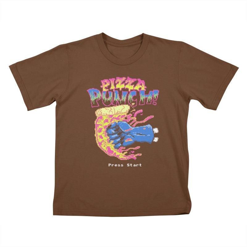 Pizza Punch Kids T-shirt by hillarywhiterabbit's Artist Shop