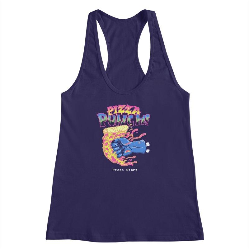 Pizza Punch Women's Racerback Tank by hillarywhiterabbit's Artist Shop