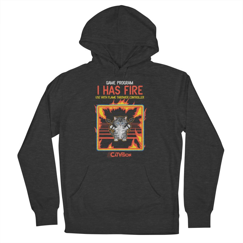 I Has Fire Women's Pullover Hoody by hillarywhiterabbit's Artist Shop
