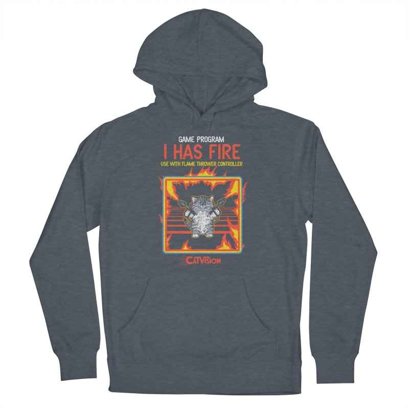 I Has Fire Men's Pullover Hoody by hillarywhiterabbit's Artist Shop