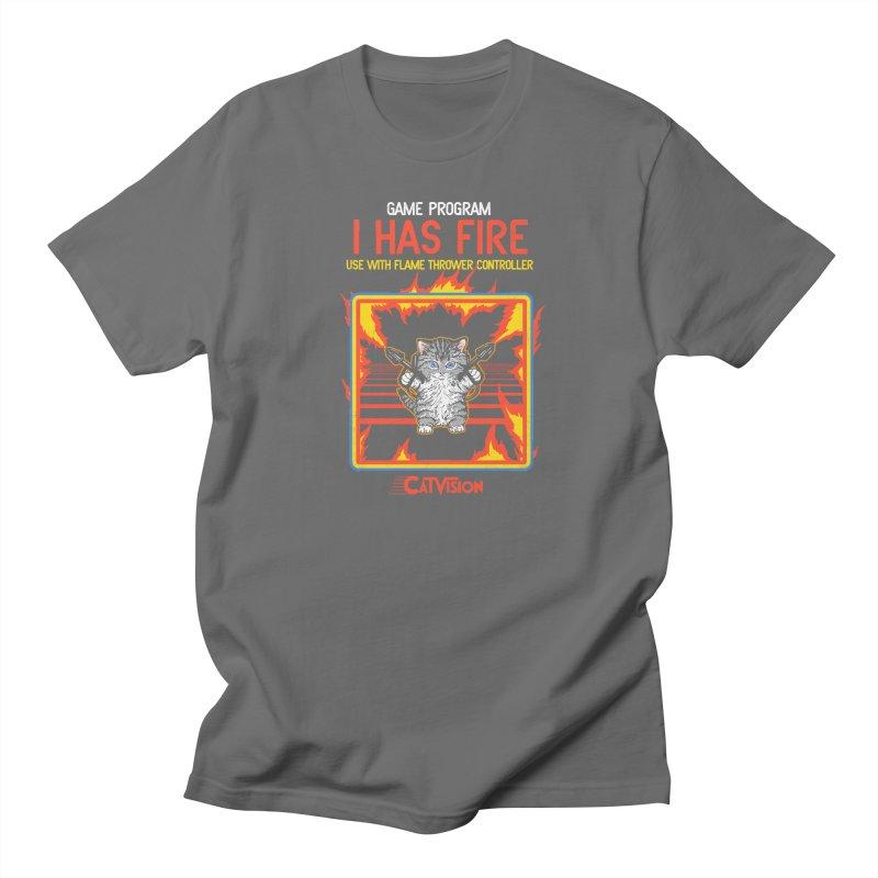I Has Fire Women's Unisex T-Shirt by hillarywhiterabbit's Artist Shop