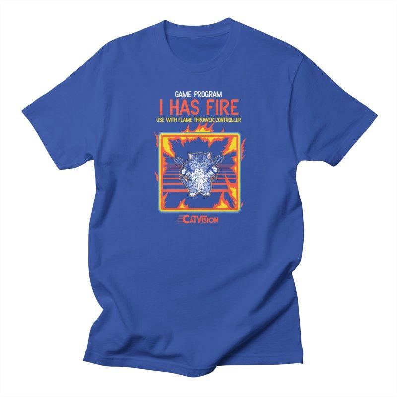 I Has Fire Men's T-shirt by hillarywhiterabbit's Artist Shop