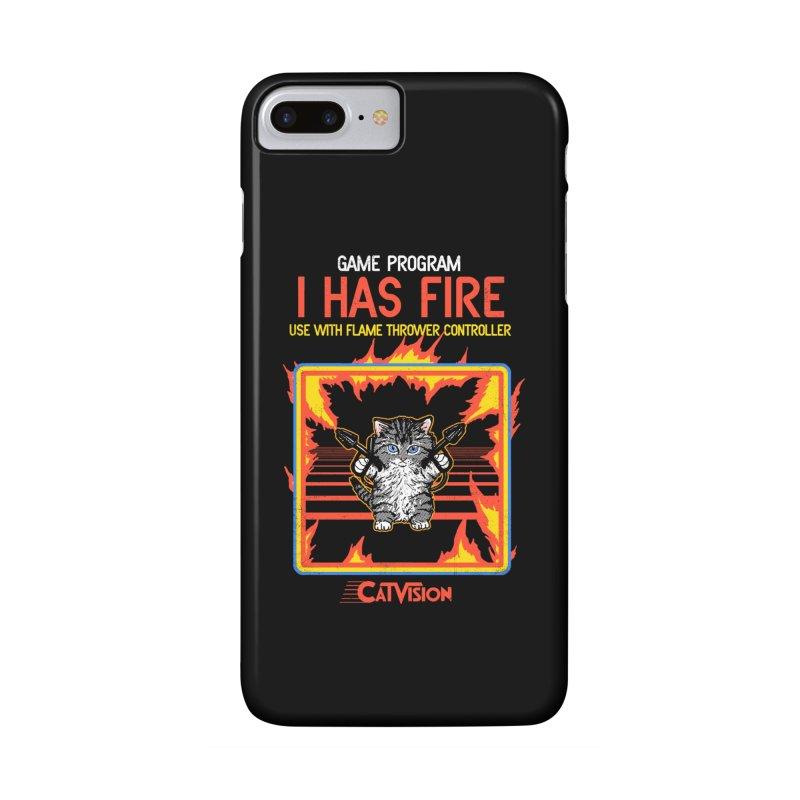 I Has Fire Accessories Phone Case by hillarywhiterabbit's Artist Shop