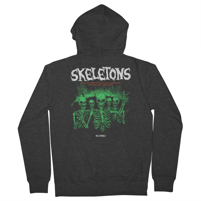 Skeletons Men's Zip-Up Hoody by hillarywhiterabbit's Artist Shop