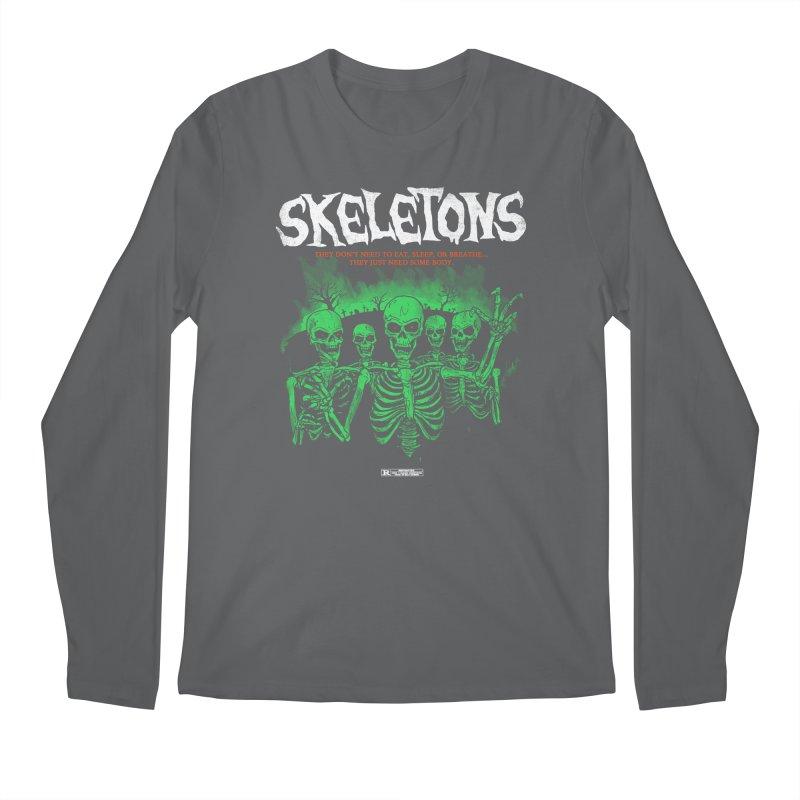 Skeletons Men's Longsleeve T-Shirt by hillarywhiterabbit's Artist Shop