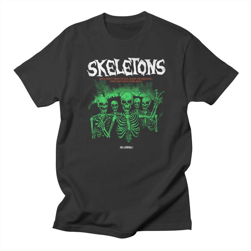 Skeletons Men's T-shirt by hillarywhiterabbit's Artist Shop