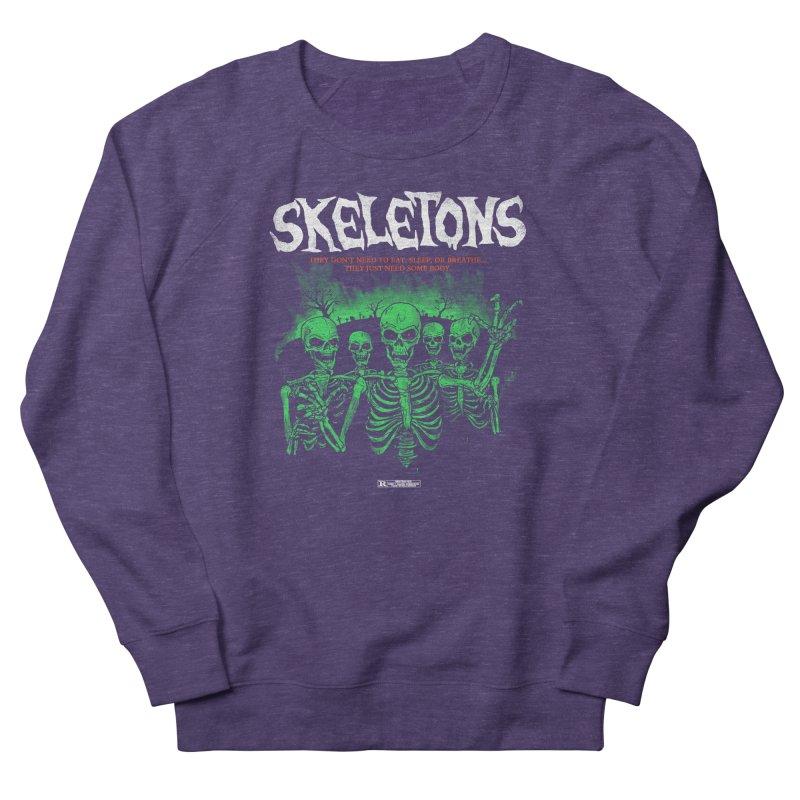 Skeletons Women's Sweatshirt by hillarywhiterabbit's Artist Shop