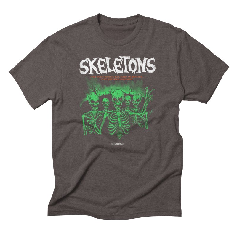 Skeletons Men's Triblend T-shirt by hillarywhiterabbit's Artist Shop